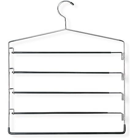 Chrome Honey-Can-Do CHR 4Tier Skirt Hangers
