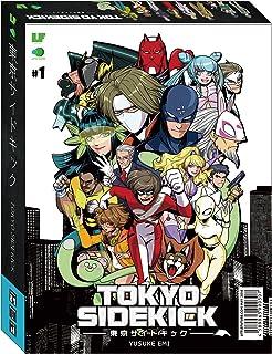 「東京サイドキック」東京を舞台にしたアメコミ調のデッキ強化型協力ゲーム