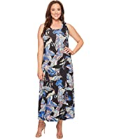 Karen Kane Plus - Plus Size Maxi Tank Top Dress