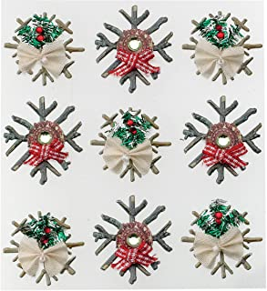 Wilton 0015586974423 jolees (Jolly Boutique) CHIPBOARD Snowflakes BQ13 50-21580, Other