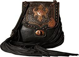 American West - Winslow Fringe Flap Crossbody