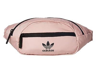 adidas Originals Originals National Waist Pack (Pink Spirit/Black) Travel Pouch