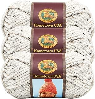 (3 Pack) Lion Brand Yarn 135-302 Hometown Yarn, Aspen Tweed