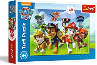 Trefl 17321 Ready to action PaW Patrol Puzzle, 60 Pieces