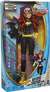 "dc comics Super Hero Girls Batgirl Action Pose Doll, multicolour, ""18"