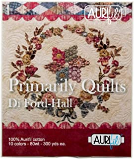 Di Ford-Hall Primarily Quilts Aurifil Thread Kit 10 Small Spools 80 Weight DFH80PQ10