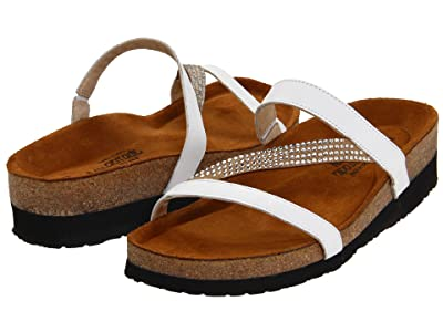 Naot Hawaii (White Leather) Women