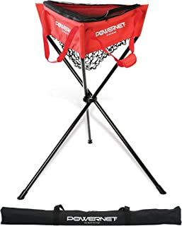 PowerNet Baseball Softball Zippered Removable Ball Caddy for Batting Practice