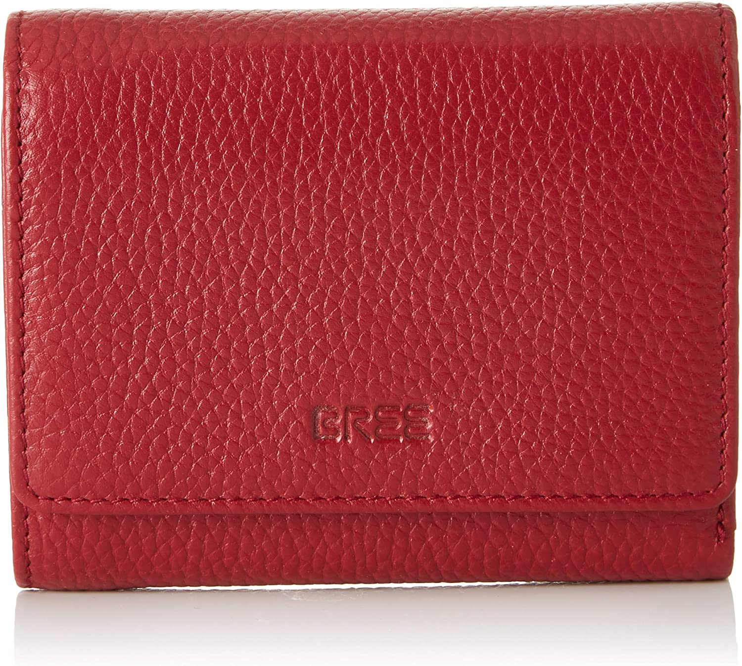 BREE Collection Liv New 106, Brick Red, Combi. Purse, Women's Wallet, Black (Brick Red), 2x11.5x13 cm (B x H T)