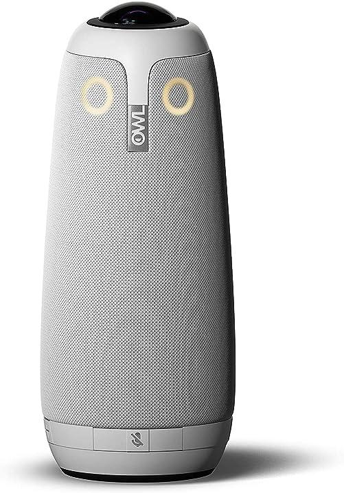 Videocamera intelligente a 360 gradi, 1080p, microfono e altoparlante meeting owl pro 860002678276