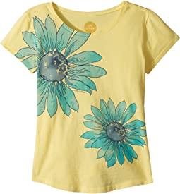 Life is Good Kids - Delightful Daisy Smiling Smooth Tee (Little Kids/Big Kids)