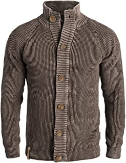 3e76d442bf Amazon.it: cardigan uomo - Marrone / Uomo: Abbigliamento