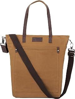 Storite Canvas Shoulder Bag/Tote Bag For Women Multipurpose Handbag With Top Zip, Best For Shopping, Travel, Work, Beach, ...