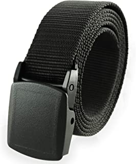 American Made Nylon Blend Military Style Belt, One Size Fits All Detachable Buckle Trekker by Thomas Bates
