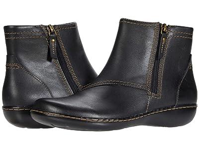 Clarks Ashland Vista (Black Leather) Women