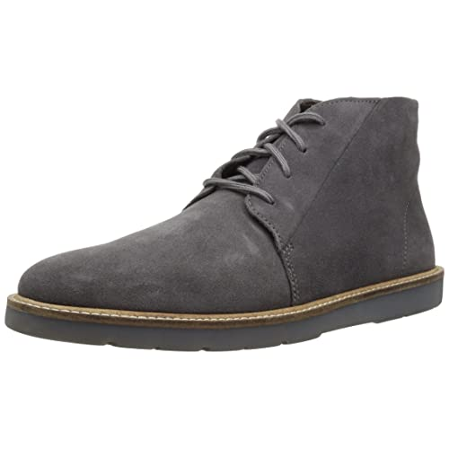 9ec602bb2 Clarks Mens Grandin Mid Suede Almond Toe Ankle Fashion Boots