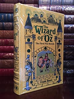 The Wizard of Oz by L. Frank Baum Leather Bound Collectible 1st Five Books
