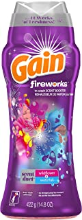 Gain Fireworks in-Wash Scent Booster Beads, Wildflower & Waterfall, 14.8 oz