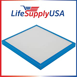 LifeSupplyUSA Replacement True HEPA Filter Compatible with HoMedics AP-20 AF-20 AF-20FL AP-25 AF-25 AF-25FL Air Cleaner