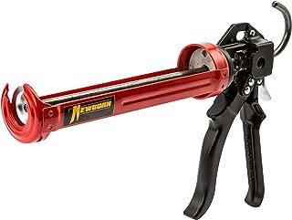 Newborn 250 Super Smooth Rod Revolving Frame Caulking Gun, 1/10-Gallon Cartridge..