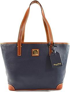 Charleston Pebbled Leather Shopper Tote Purse Bag Handbag