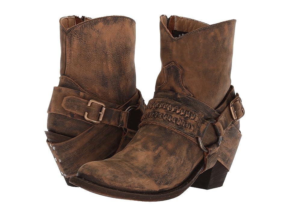 Dingo Mitzi (Tan) Cowboy Boots