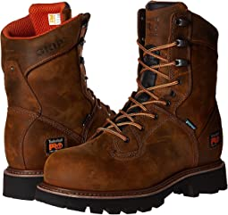 "8"" Crosscut Steel Safety Toe Waterproof Boot"