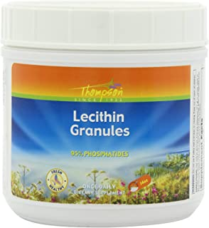 Thompson Lecithin Granules, Powder, 14 Ounce