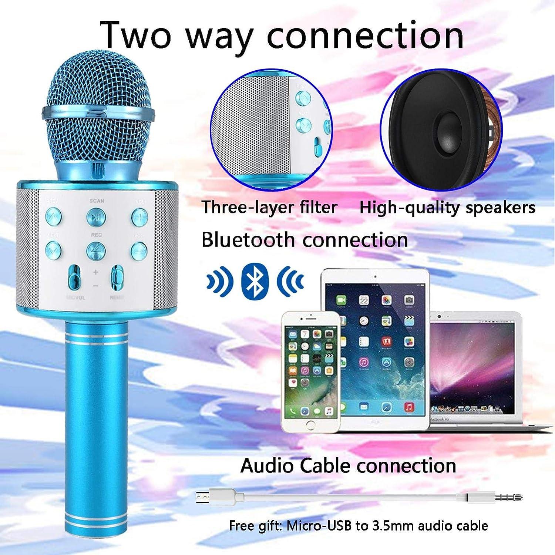 Electronics for Kids Karaoke Machines Portable Handheld Mic ...