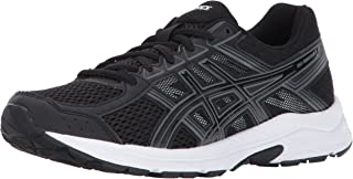 ASICS Womens Gel-Contend 4 Running Shoe, Black/Carbon, 6...