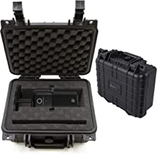 CASEMATIX Travel Case Compatible with Elgato Wave 1 & Elgato Wave 3 USB Microphone and Accessories - Hard Shell Waterproof Condenser Microphone and PC Microphone Travel Case for Streaming Microphone