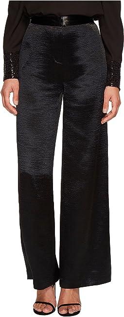 kensie - Crinkled Satin Pants KSDU1021