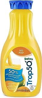 Tropicana, Trop50 Orange Juice, x Pulp, 52 oz