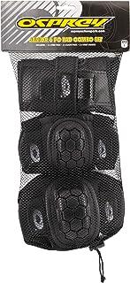 Juego protector infantil de rodillas, codos y muñecas de 6 piezas para patín/BMX de Osprey