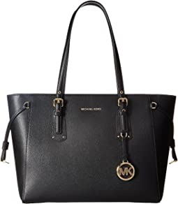 3ff4ef874ecd MICHAEL Michael Kors. Bedford Medium Top Zip Pocket Tote. $198.00. Black
