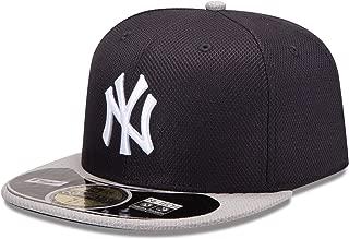 MLB New York Yankees Batting Practice 59Fifty Baseball Cap, Navy/Gray