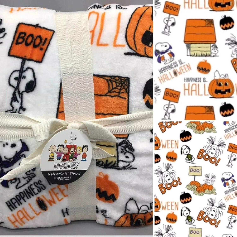 Berkshire Peanuts Snoopy mart Happiness is Halloween Plu 55 70 Inch Free shipping x