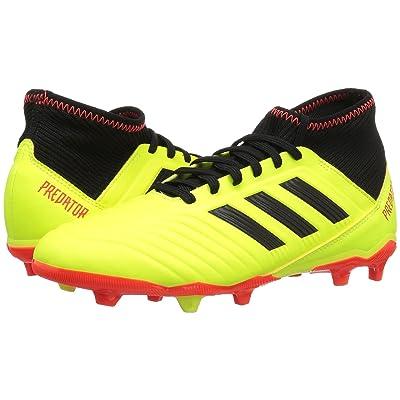 adidas Kids Predator 18.3 FG Soccer (Little Kid/Big Kid) (Yellow/Black/Red) Kids Shoes