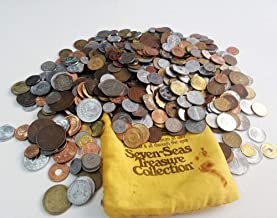 Coins Collection - World Coins - Seven-Seas Treasure Collection - 501 Different Coins from All Over The World