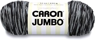 Caron Jumbo Ombre Yarn, 12 oz, Dalmation, 1 Ball