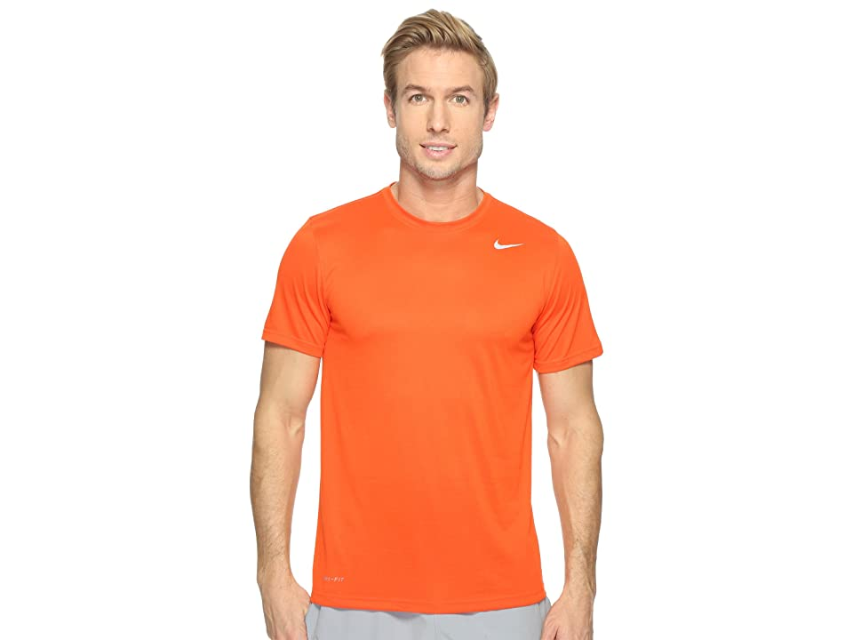 Nike Legend 2.0 Short Sleeve Tee (Team Orange/Matte Silver) Men