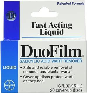 Duofilm Liquid Salicylic Acid Wart Remover - 1/3 Oz (Pack of 2)