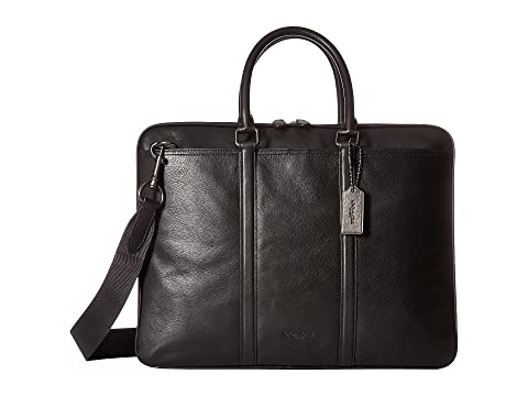 ce9484db3c COACH Sport Calf Metropolitan Brief at Zappos.com