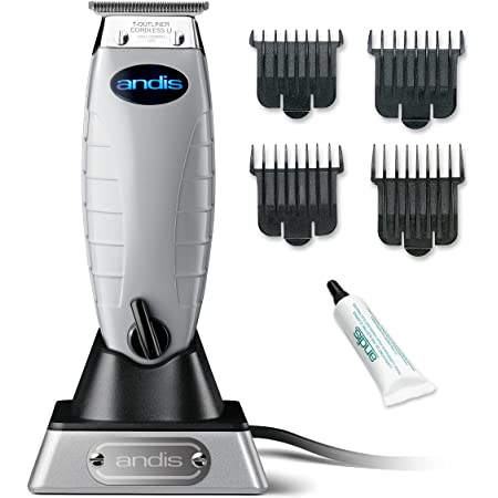 Andis 74000 Professional Cordless T-Outliner Beard/Hair, Trimmer, 1 Count