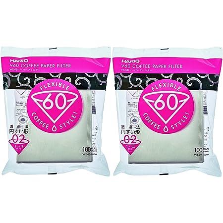 Hario V60Misarashi Filtro de papel de café, Blanco, 1