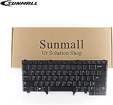 SUNMALL Replacement Keyboard with Backlit Compatible with Dell Latitude E5420 E5430 E6220 E6320 E6330 E6420 E6430 E6440 Series US Layout (with Pointer Stick)