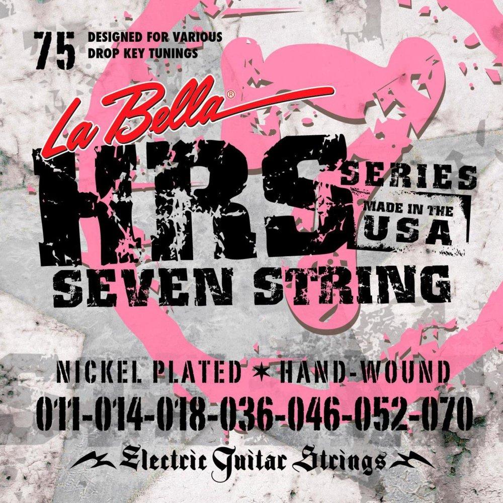Cheap La Bella HRS-75 Nickel 7-String Electric Guitar Strings - .011-.070 Black Friday & Cyber Monday 2019