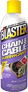 B'laster 16-CCL Long-Lasting Chain and Cable Lubricant, 11. Fluid_Ounces