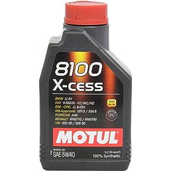 Motul 102784 8100 X-Cess 5W40 12X1L