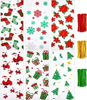 Best christmas cellophane sweet bags Reviews